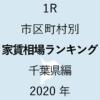 31地域別【1R 家賃相場ランキング&マップ】千葉県編 2020年のアイキャッチ画像