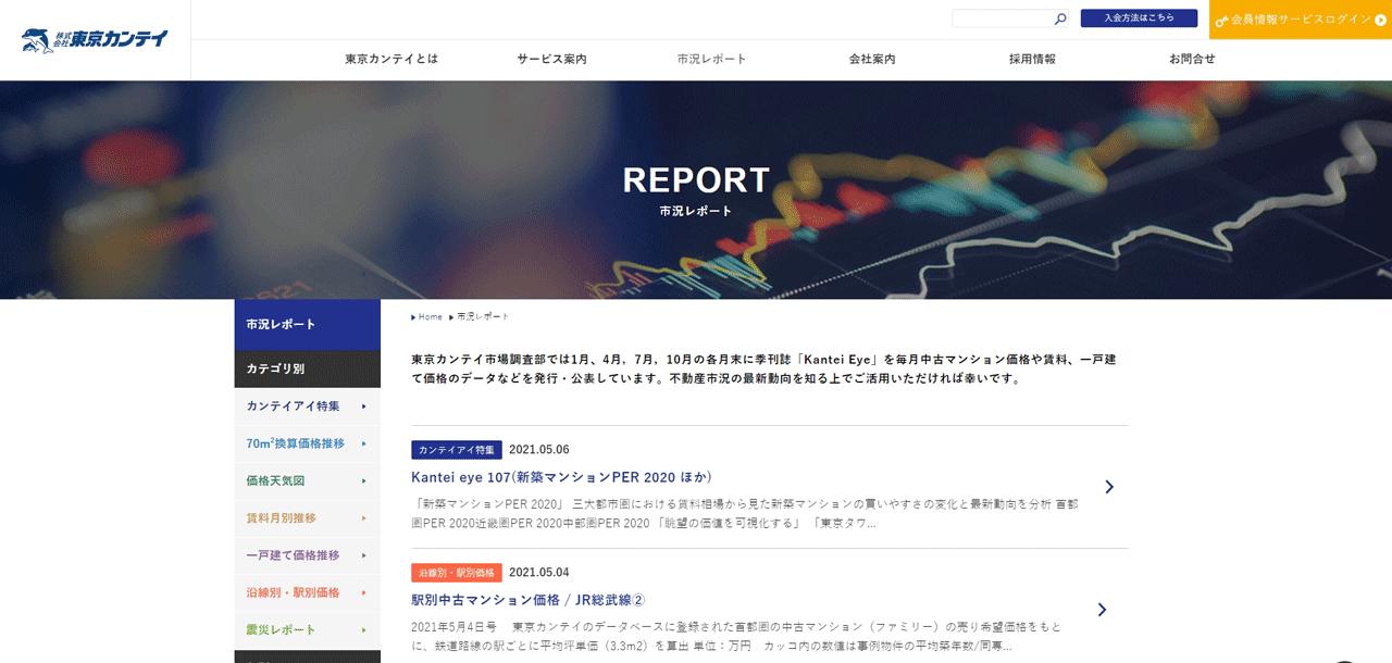 東京カンテイ 市況レポート